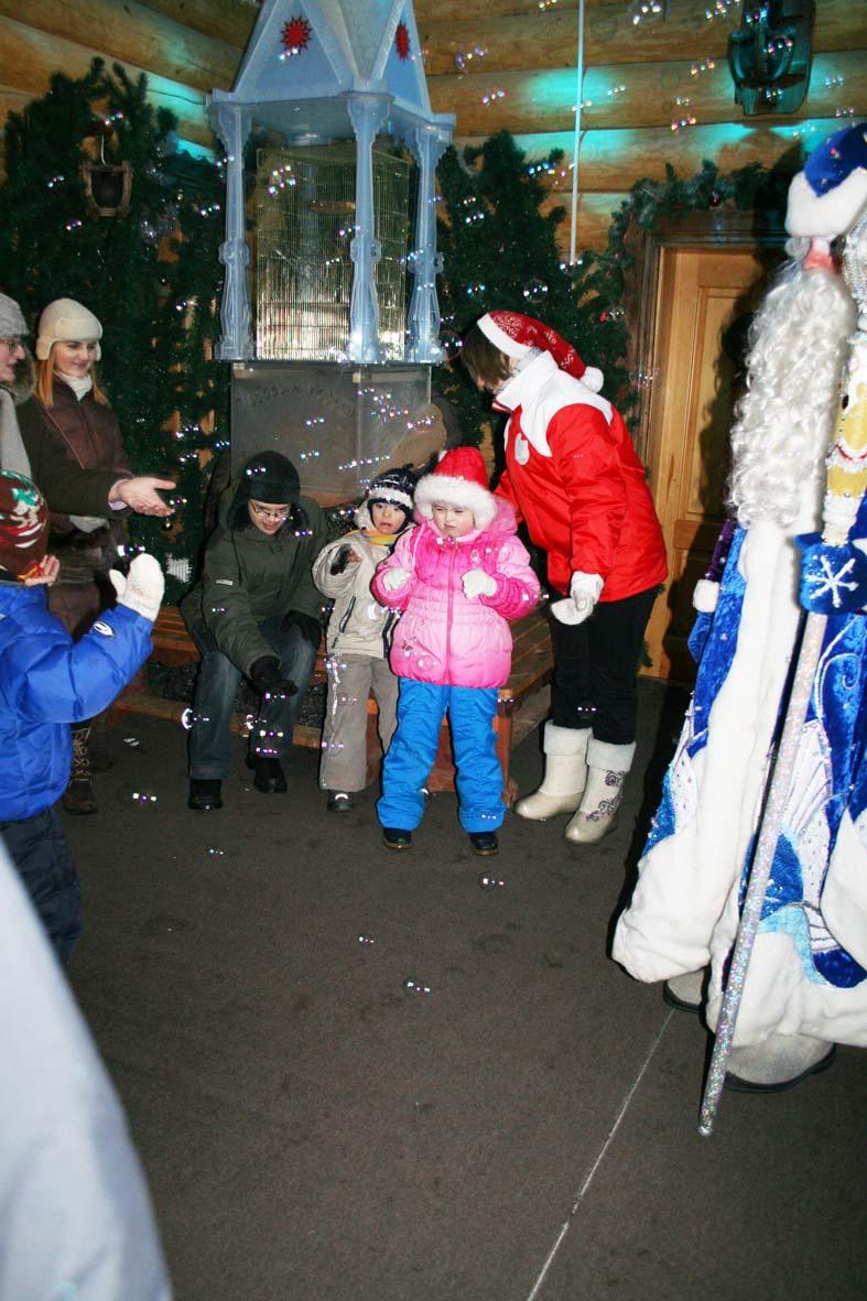 Дед Мороз исполняет желания.